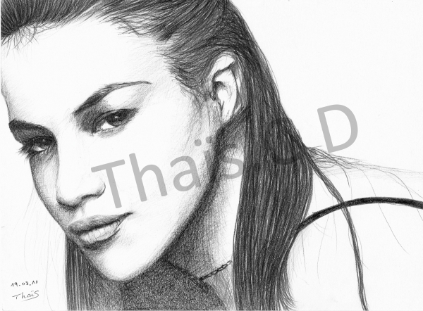 Michelle Rodriguez by Churel